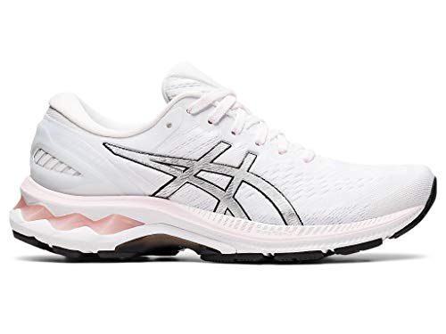 ASICS Women's Gel-Kayano 27 Running Shoes, 12.5M, Pink Salt/Pure Silver