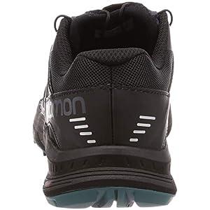 Salomon Women's Ultra Pro Trail Running Shoe, Graphite/Black/Hydro., 8.5