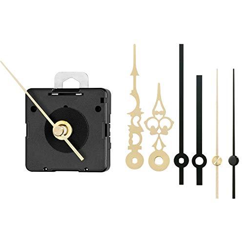 JUNGHANS Quarz-Uhrwerk-Set ME 838 – ZWL 16,2 mm – Exklusiv für Selva zusammengestellt – Unverzichtbares Set für passionierte Uhren-SELBERMACHER – Bewährte Qualität – Auch für EINSTEIGER