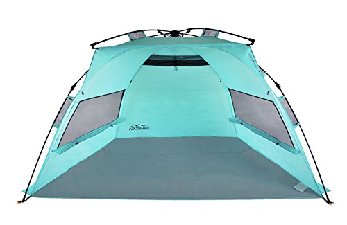 Saratoga Outdoor Instant Automatic Pop Up Beach Tent (Saratoga Blue Large)