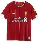 New Balance - Camiseta para niños (2019/20, Unisex niños, S/s Top, JT930000, Rojo, M