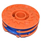 Spool & Line for Qualcast GGT4401, GGT4502 & GGT600A1, GT25 350 Watt and GT30 & GGT450A1 450 Watt Strimmers 1.5 mm x 2 mm x 5 metre by <span class='highlight'><span class='highlight'>Yourspares</span></span>