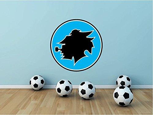 Sampdoria Genoa FC Italy Soccer Football Sport Home Decor Art Wall Vinyl Sticker 55 x 55 cm