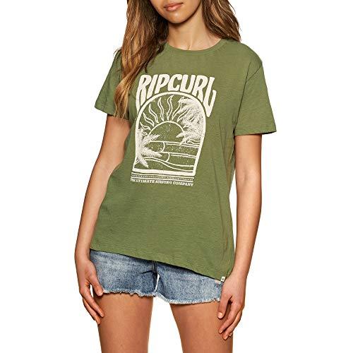 Rip Curl North Shore Standard - Camiseta de manga corta para mujer