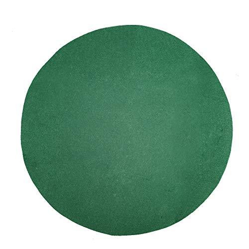 QLINDGK Tapis de sapin de Noël absorbant et imperméable 71 cm - Pour protéger le sol du sapin de Noël - Vert