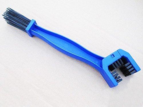 Ceiceili - Cepillo para limpiar cadenas de moto (azul)