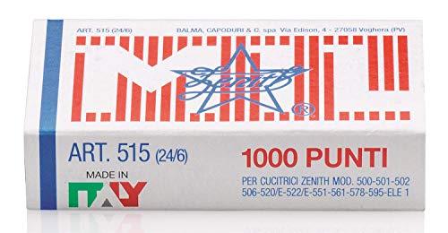 Zenith 515BIS - Lotto di 5 scatole da 5000 punti 24/6