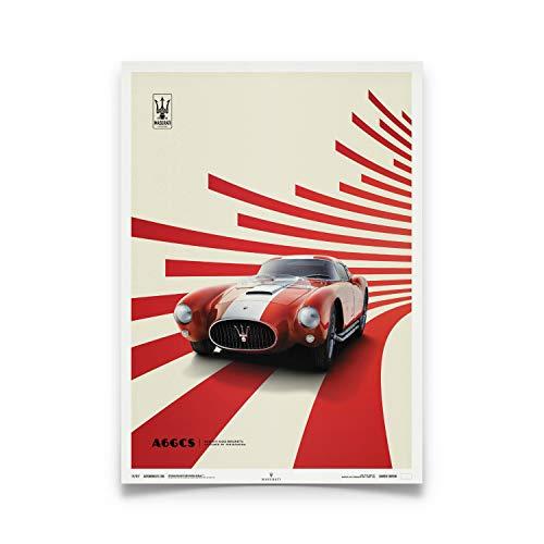 Automobilist | Maserati A6Gcs Berlinetta 1954 - Rosso | Standard Formato Poster