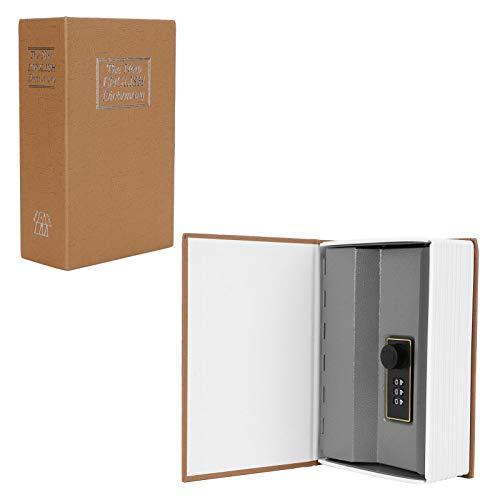 Diversion Book Safe con cerradura de combinación, diccionario Diversion Safe Book Secrect Caja de seguridad oculta con cerradura Caja de dinero para oficina en casa, 4.6x2.2x7.2 pulgadas