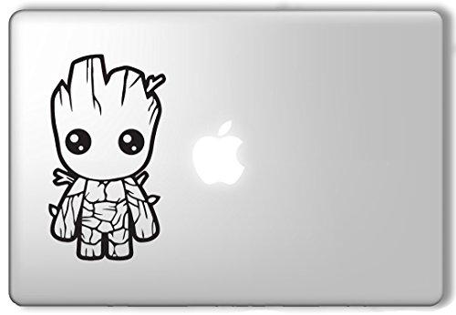 Cute Groot Guardians of the Galaxy Marvel Superheroes - Apple Macbook Laptop Vinyl Sticker Decal
