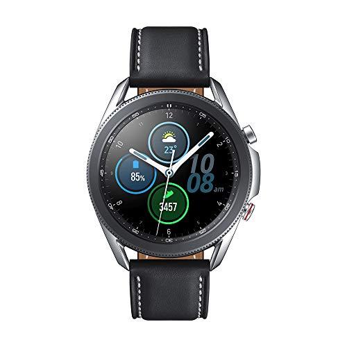 Samsung Galaxy Watch3 Stainless Steel 45mm Bluetooth Smart Watch Mystic Silver (UK Version)