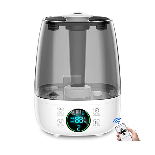 Humidifiers for Bedroom 4.5L Large-capacity Humidifier Household Silent Bedroom Indoor Large Fog Volume Air Purifier Pregnant Women Baby Aromatherapy Machine, Waterless Auto-Off Humidifiers with Essen