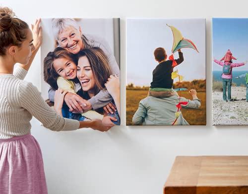 weiyou Stampe su Tela Personalizza per Famiglia,Modern Canvas Posters Print,Personalizzato con Stampe su Tela per La Decorazione Domestica,Quadro su Tela Decorativi per Casa E Ufficio (20X30cm)