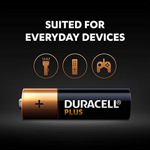 Duracell Plus AA Alkaline Batteries [Pack of 12], 1.5 V LR06 MX1500