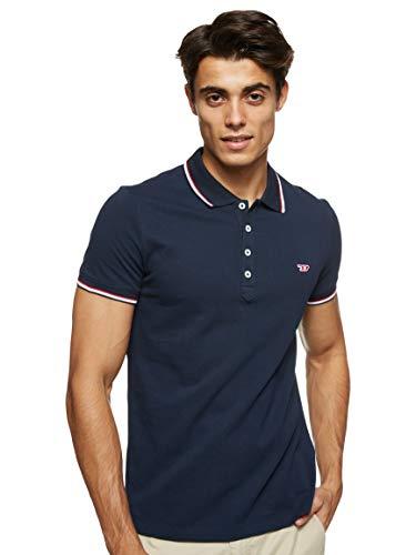 Diesel T Randy New T-Shirts & Poloshirts Herren Marine - XXL - Polohemden Shirt