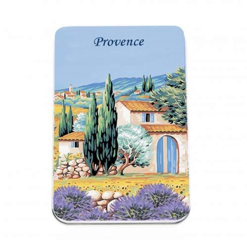Le Blanc Savon naturel à la lavande en Provence Boîte métallique 6 x 25 g