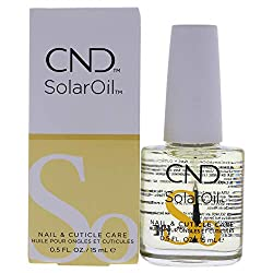 CND's cult classic SOLAROIL is designed to penetrate deeply into cuticles and nails to prevent them from becoming brittle and to promote nail growth. Jojoba, rice bran and sweet almond oil infused with the power of vitamin E, prevents nails from beco...