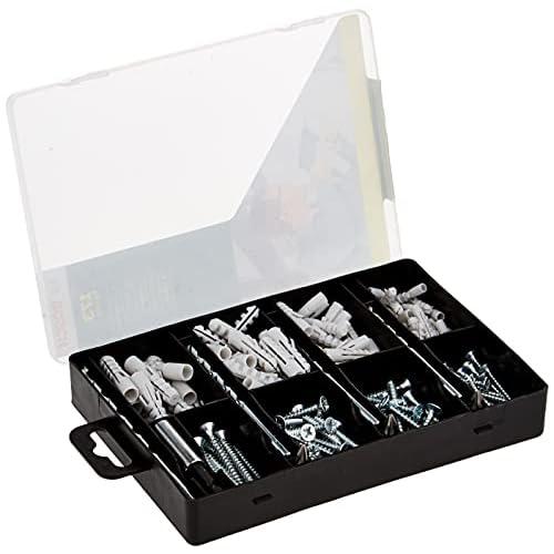Bosch 2607019511 Set Completo per Fissaggio, 173 Pezzi, 4 Punte