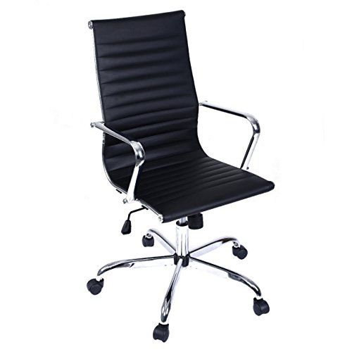 Modern Design High Back Office Ergonomic Chair Executive Comfortable Computer Desk 360 Degree Swivel New #673