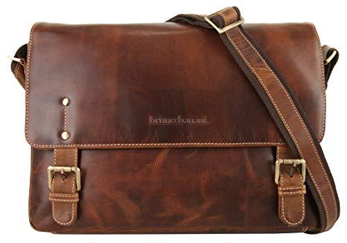 Bruno Banani Jim Postbag S Umhängetasche, Cognac