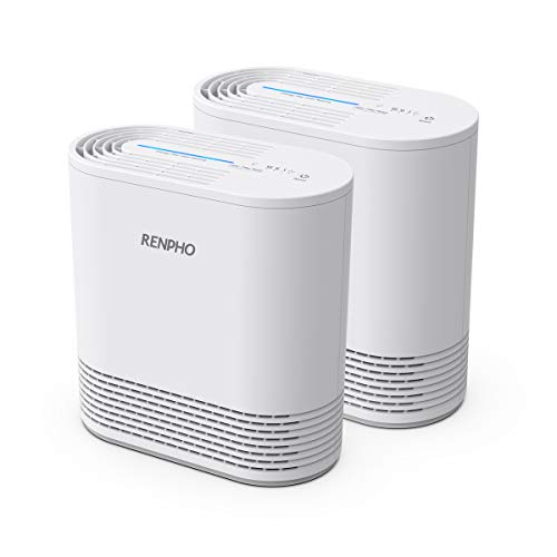 Amazing Deal RENPHO Air Purifier for Home Allergies and Pets, Air Purifiers for Bedroom with True HE...