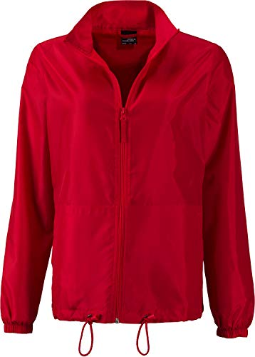 James & Nicholson Damen Jacke Ladies' Promo Jacket Rot (Light-Red) 40 (Herstellergröße: XL)