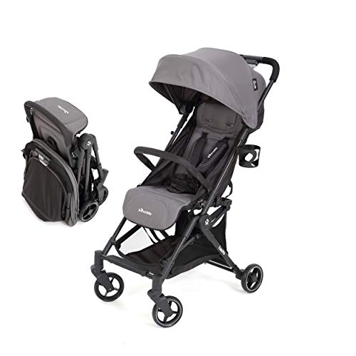 Ryride Lightweight Stroller with Easy One-Hand Auto Fold, Baby Umbrella Strollers for Infant & Stroller, Foldable Compact Stroller for Travel, Convenience Stroller with Canopy/Carrying Strap