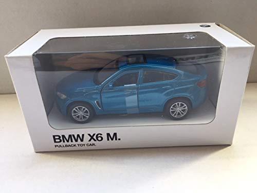 BMW Miniatur Pullback Car Aufziehauto Rückziehauto / 3.0 CSL / X6 M / i8 / M6 / 1:41 (X6 M)