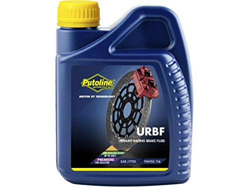Putoline Ultimate Racing Brakefluid DOT 4 über 300 °C für Rennmotorräder, 500 ml