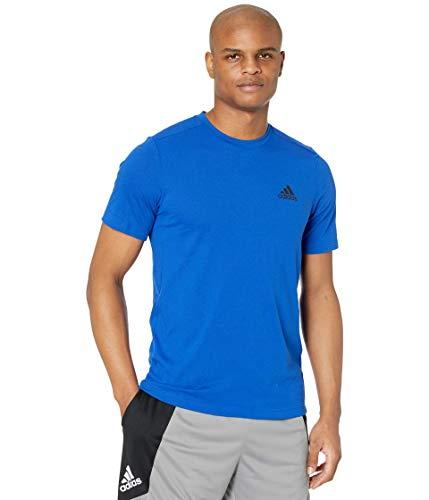 adidas mens FR Tee Team Royal Blue/Black Large