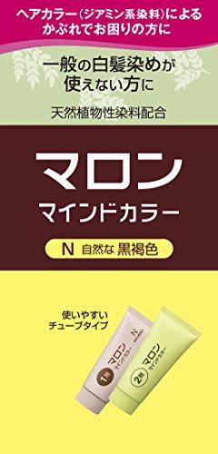 マロン マインドカラー N 自然な黒褐色 140g [医薬部外品]
