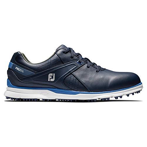 FootJoy Men's Pro/SL Golf Shoes, Navy/Light Blue, 10 M US