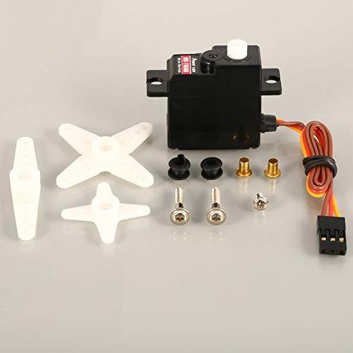 ArgoBear Leistung HD HD-1160a 3kg Steering Torque Digital-Plastikzahnrad-Mini Servo für RC Auto-Buggy Roboter Hubschrauber-Drohne Ersatzteile Unique