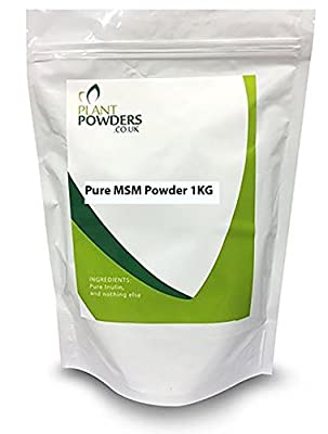 1KG Pure MSM Powder - Ideal For Joints + Cartilage – In Easy To Use Bucket/Tub