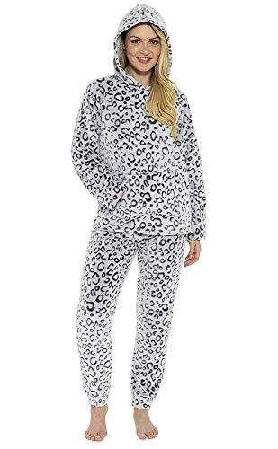 potente para casa Pijamas City Comfort para mujer de invierno, conjuntos de pijamas de dos piezas, manga larga, pantalón largo,…