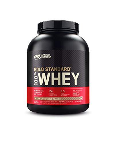 Whey Protein 100% Gold Standard, 2270g Mocha Cappuccino, Optimum Nutrition