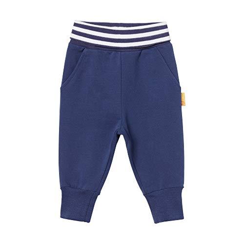 Steiff Jogginghose Pantalon De Sport, Bleu (Patriot Blue 6033), 58 (Taille Fabricant: 56) Bébé garçon