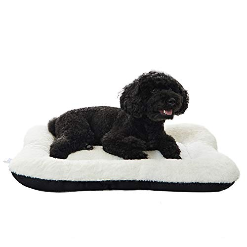 ANWA Puppy Dog Bed Small Pet Bed Crate Bed Soft and Durable for Small...