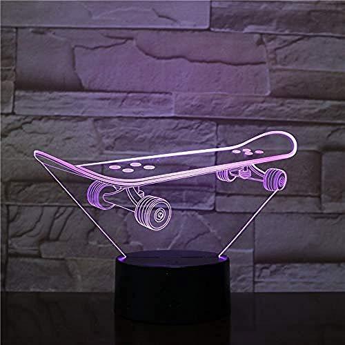 Nachtlampje 3D nachtlampje verlichting van de kamer scooter slaapkamer romantisch eettafel liefhebbers geschenken Valentijnsdag paar kinderen slapen