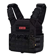 500D Nylon Plenty of molle webbings for attachments Adjustable to fit most Loop panel for holding patches