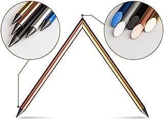 Designer Automatic Pencil, Everlasting Pencil, Metallic pencil, Ink-less Pen, In-erasable Pen, Creative Design (Silver)