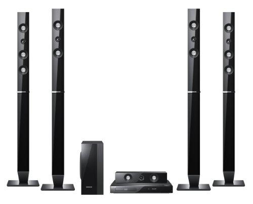 Samsung HT-C5550 cine en casa - Equipo de Home Cinema (Reproductor de DVD, AVI, Divx, WMV, 1000W, 5.1, 70 Db, FM)
