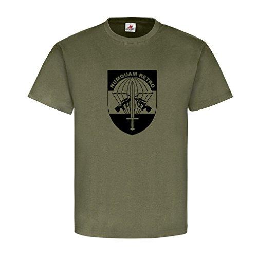 JaKdo Bundesheer Jagdkommando Logo Österreich Spezial Einheit Emblem Elite Austria Special Forces T-Shirt #18847, Größe:L, Farbe:Oliv