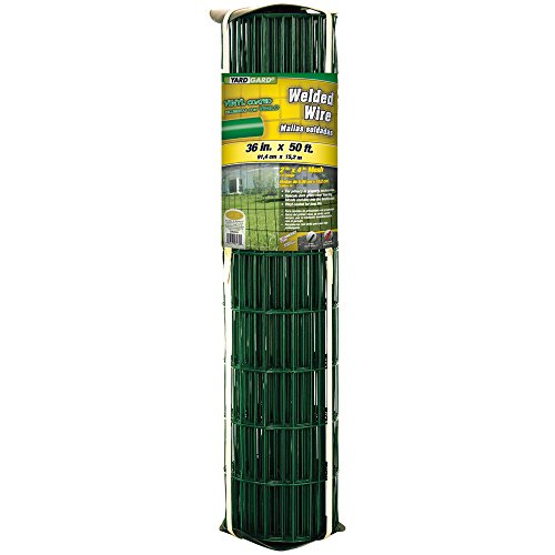 YARDGARD 308357A Fence, Height-36 Inches x Length-50 Ft, Color - Green
