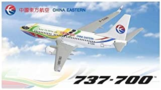 """Dragon Models China Eastern 737-700 """"Better City, Better Life"""" Eyes of The Expo B-5265 Diecast Aircraft, Scale 1:400"""