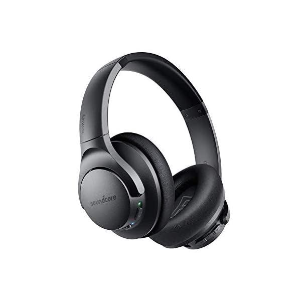 Anker Soundcore Life Q20 Hybrid Active Noise Cancelling Headphones, Wireless Over Ear Bluetooth Headphones, 40H Playtime, Hi-Res Audio, Deep Bass, Memory Foam Ear Cups, for Travel, Home Office 3