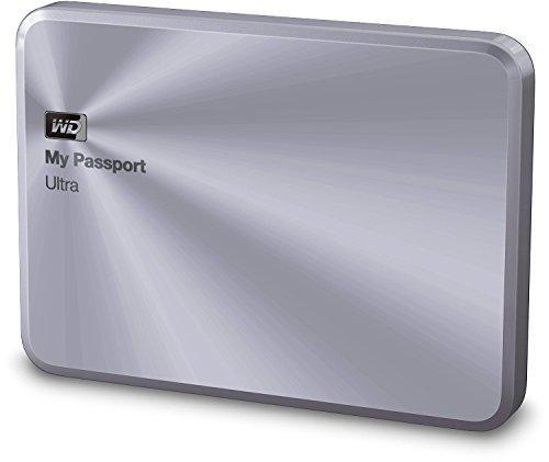 Western Digital My Passport Ultra de Metal Edition-Disco duro externo portátil de 2,5