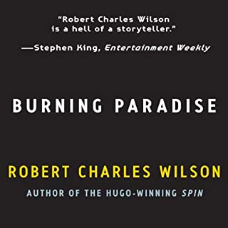 Burning Paradise audiobook cover art