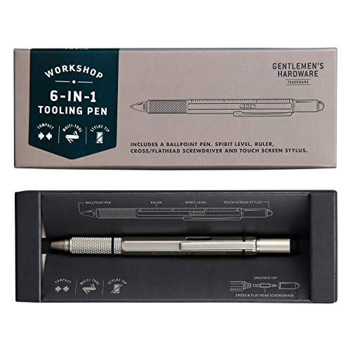 Gentlemen's Hardware GEN491 6 in 1 Tooling Pen Werkzeugstift