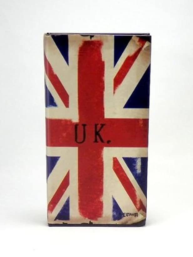 ビンテージ風 オシャレな イギリス 国旗柄 ユニオンジャック 小型ノート